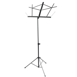 On-Stage Folding Music Stand w/Bag Black
