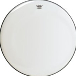 "Remo 24"" Smooth White Ambassador Drum Head"