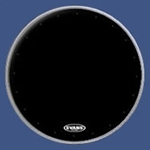"Evans 20"" EQ1 Resonant Black Bass Drum Head"