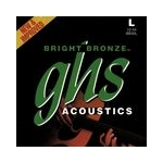 GHS Bright Bronze Guitar Strings Light