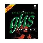GHS Bright Bronze Guitar Strings Medium