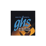 GHS White Bronze Guitar Strings Light