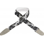 "Levy's Strap Guitar Cotton 2"" Arctic Camo"