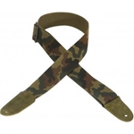 "Levy's Strap Guitar Cotton 2"" Camo"
