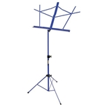 On-Stage Folding Music Stand w/Bag Dark Blue