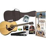 Yamaha Acoustic Guitar Pack Natural