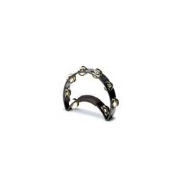 Rhythm Tech Black Tambourine