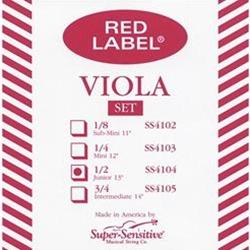 Dominant Viola 1//2 size Strings