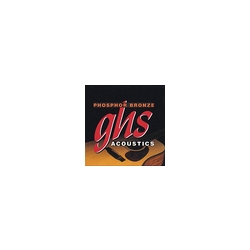 GHS Phosphor Bronze Guitar Strings True Medium