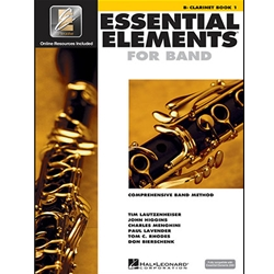 Essential Elements Interactive Book 1 Clarinet (formerly EE2000)