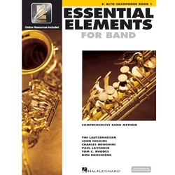 Essential Elements Interactive Book 1 Alto Saxophone (formerly EE2000)