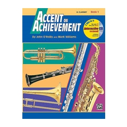 Accent On Achievement 1 Clarinet