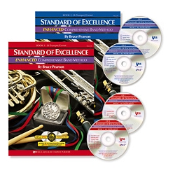 Standard Of Excellence Enhanced Book 1  Baritone Bass Clef