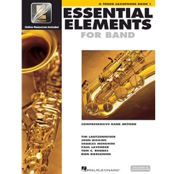 Essential Elements Interactive Book 1 Tenor Sax (formerly EE2000)