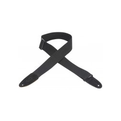 Levy's Cotton Guitar Strap Black