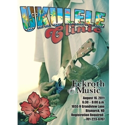 Clinic Fee with Deluxe Ukulele and Bag