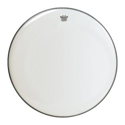 "Remo 28"" Smooth White Ambassador Drum Head"