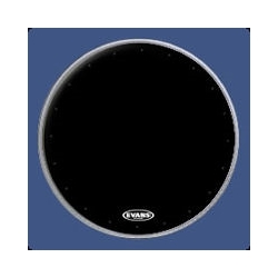 "Evans 22"" EQ1 Resonant Black Bass Drum Head"