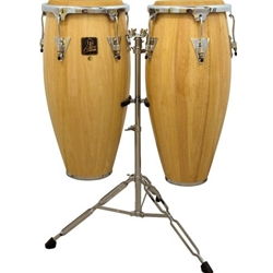 LP Aspire Conga Set with Stand Natural