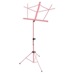 On-Stage Folding Music Stand w/Bag Pink
