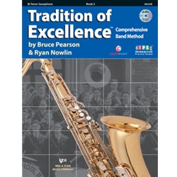 Tradition Of Excellence Book 2 Tenor Sax