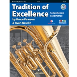 Tradition Of Excellence Book 2 Baritone Bass Clef