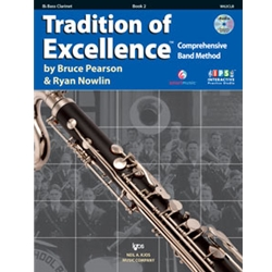 Tradition Of Excellence Book 2 Bass Clarinet