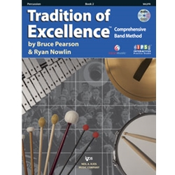 Tradition Of Excellence Book 2 Percussion