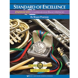 Standard Of Excellence Enhanced Book 2  Baritone Bass Clef