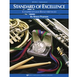 Standard Of Excellence Book 2  Baritone Bass Clef