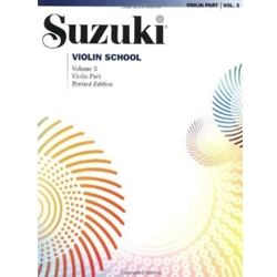 Suzuki Violin School Volume 3 Violin Pt