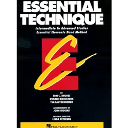 Essential Techniques  Tenor Sax