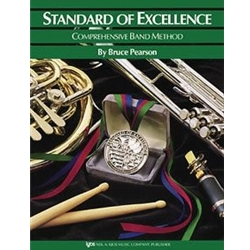 Standard Of Excellence Book 3  Baritone Bass Clef