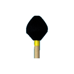 Mike Balter Mallets Cord Hard Black