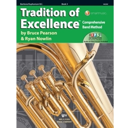 Tradition Of Excellence Book 3 Baritone Bass Clef