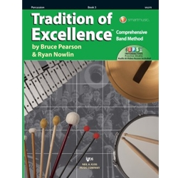 Tradition Of Excellence Book 3 Percussion