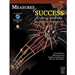 Measures of Success Book 1 w/DVD Cello