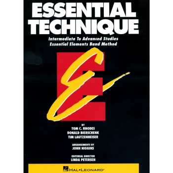Essential Technique  Baritone Saxophone
